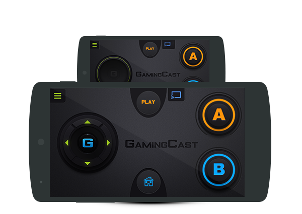 Gamingcast (for chromecast) - controller