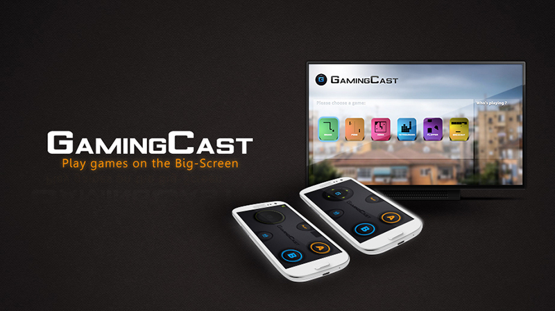 Gamingcast (for chromecast) banner