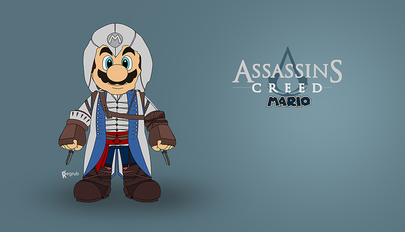 Mario assassin's creed pic2