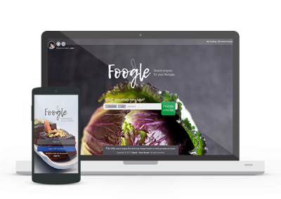 Foogle web and app